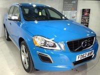 2012 VOLVO XC60 2.4 D5 R-DESIGN AWD 5d AUTO Stunning Rebel Blue £19500.00