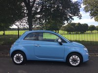2013 FIAT 500 1.2 COLOUR THERAPY 3d 69 BHP £5995.00