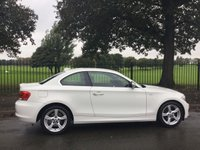 USED 2013 63 BMW 1 SERIES 2.0 118D EXCLUSIVE EDITION 2d 141 BHP 1 OWNER FROM NEW, Alpine White, 17 Inch Alloys, Leather