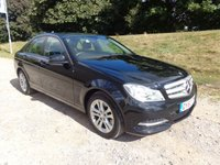 2012 MERCEDES-BENZ C CLASS 2.1 C220 CDI BLUEEFFICIENCY EXECUTIVE SE 4d 168 BHP £11600.00