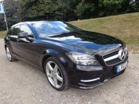 2013 MERCEDES-BENZ CLS CLASS 2.1 CLS250 CDI BLUEEFFICIENCY AMG SPORT 5d AUTO 202 BHP £19650.00