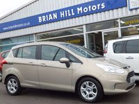 2013 FORD B-MAX 1.4 ZETEC 5d ( 11000mls) Air cond.Alloy wheels. £7995.00