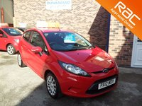 2012 FORD FIESTA 1.2 EDGE 3d £SOLD