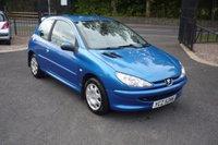 2004 PEUGEOT 206 1.1 STYLE 3d 60 BHP £1595.00