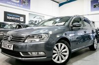 2013 VOLKSWAGEN PASSAT 2.0 HIGHLINE TDI BLUEMOTION TECHNOLOGY 5d [SAT NAV+LEATHER+B/TOOTH+PARK] £10950.00