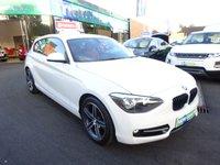 2013 BMW 1 SERIES 2.0 116D SPORT 3d 114 BHP £13000.00