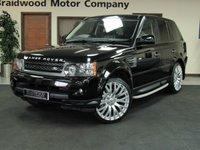 2009 LAND ROVER RANGE ROVER SPORT 3.0 TDV6 HSE 5d AUTO 245 BHP £21950.00