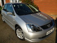 2004 HONDA CIVIC 1.6 SE 5d 110 BHP Very Good Example For The Year  £2175.00