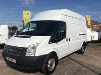 2013 FORD TRANSIT LWB 2.2 350 H/R 124 BHP 1 OWNER FSH NEW MOT £8995.00