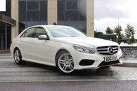 2013 MERCEDES-BENZ E CLASS E220 CDI AMG SPORT 2.1 4d AUTO 168 BHP £18249.00