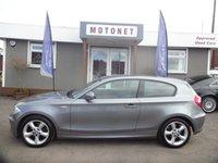 2009 BMW 1 SERIES 2.0 118D SPORT 3d 141 BHP £5450.00