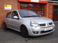 2004 RENAULT CLIO 2.0 RENAULTSPORT 182 16V 3d 182 BHP £1989.00