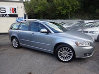 USED 2012 12 VOLVO V50 1.6 DRIVE SE LUX EDITION S/S 5d 113 BHP NATIONALLY PRICE CHECKED DAILY