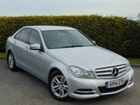 2014 MERCEDES-BENZ C CLASS 2.1 C220 CDI EXECUTIVE SE 4d AUTO 168 BHP £15000.00