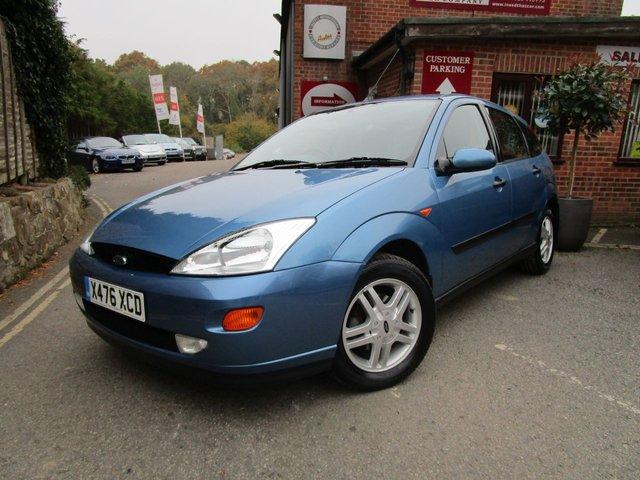 2000 FORD FOCUS 1.6 ZETEC 5d AUTO 99 BHP