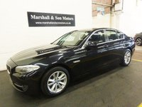 2011 BMW 5 SERIES 2.0 520D EFFICIENTDYNAMICS 4d 181 BHP £8899.00