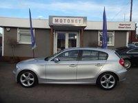 2008 BMW 1 SERIES 1.6 116I SE 5d 121 BHP £6440.00