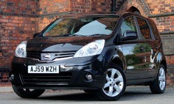 2010 NISSAN NOTE 1.4 N-TEC 5d 87 BHP £2775.00