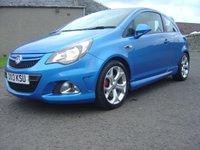 2013 VAUXHALL CORSA 1.6 VXR 3d 189 BHP £8250.00