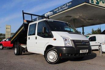 2014 FORD TRANSIT 2.2 350 DRW 1d 99 BHP £13995.00