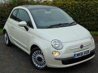 2011 FIAT 500 0.9 LOUNGE 3d  £5000.00