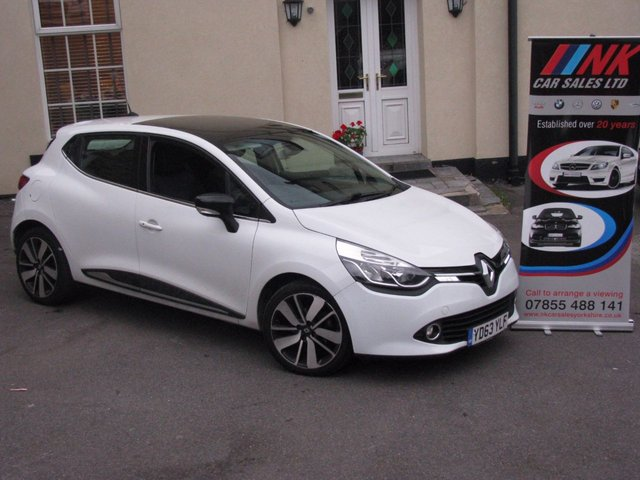 2013 63 RENAULT CLIO 1.5 DYNAMIQUE S MEDIANAV ENERGY DCI S/S 5d 90 BHP RARE CAR WITH PAN ROOF SOLD TO WENDY AND DELIVERED TO SOUTHHAMPTON