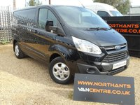 2016 FORD TRANSIT CUSTOM 2.2TDCi 290 L1H1 LIMITED Panel Van 125BHP Delivery Miles Only *CHOICE OF 2* £16790.00