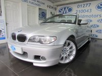 2003 BMW 3 SERIES 2.2 320CI SPORT 2d AUTO 168 BHP £4295.00