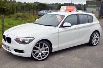 2013 BMW 1 SERIES 1.6 116D EFFICIENTDYNAMICS 5d 114 BHP £11000.00