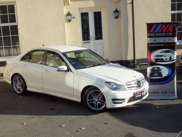 2012 12 MERCEDES-BENZ C CLASS 2.1 C220 CDI BLUEEFFICIENCY AMG SPORT 4d AUTO 168 BHP RARE SOLD GOING TO CYPRUS