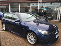 2010 BMW 5 SERIES 2.0 520D M SPORT BUSINESS EDITION TOURING 5d AUTO 175 BHP £12995.00