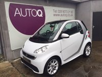2012 SMART FORTWO 1.0 PASSION MHD 2d 71 BHP £4695.00