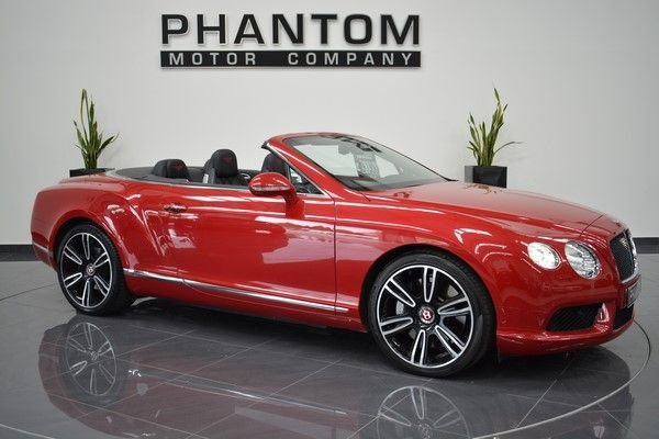 2012 62 BENTLEY CONTINENTAL 4.0 GTC V8 2d AUTO 500 BHP