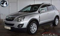 2013 VAUXHALL ANTARA 2.2 EXCLUSIV CDTi 4WD 5 DOOR 6-SPEED 161 BHP £10990.00