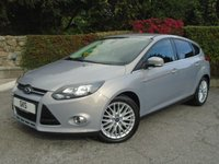 2012 FORD FOCUS 1.6 ZETEC TDCI 5d 113 BHP - ONLY 12,000 MILES! £8795.00