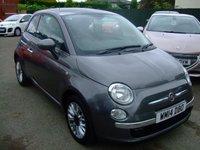 2014 FIAT 500 1.2 LOUNGE 3d 69 BHP £6999.00