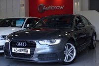 2013 AUDI A6 SALOON 3.0 TDI QUATTRO S LINE 4d AUTO 245 S/S £18983.00
