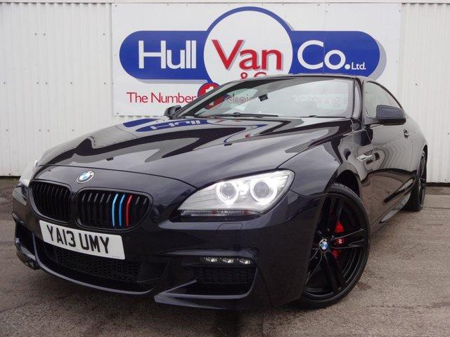 2013 13 BMW 6 SERIES 3.0 640D M SPORT 2d AUTO 309 BHP