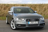 2012 AUDI A4 3.0 S4 AVANT QUATTRO 5d AUTO 329 BHP £25495.00