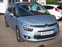 USED 2014 63 CITROEN C4 PICASSO 1.6 GRAND E-HDI AIRDREAM EXCLUSIVE 5d 113 BHP NEED FINANCE? WE CAN HELP. WE STRIVE FOR 94% ACCEPTANCE