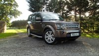 2010 LAND ROVER DISCOVERY 3.0 4 TDV6 HSE 5d AUTO 245 BHP £22995.00