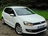 2013 VOLKSWAGEN POLO 1.2 MATCH EDITION 5d 59 BHP £7254.00