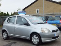 1999 TOYOTA YARIS 1.0 GS 5d (TWO LADY OWNERS. FULL SERVICE HISTORY) £945.00