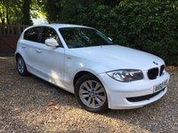 2010 BMW 1 SERIES 2.0 116D ES 5d 114 BHP £6989.00