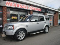 2012 LAND ROVER DISCOVERY 3.0 4 SDV6 GS 5d AUTO 255 BHP £17995.00