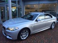 2012 BMW 5 SERIES 2.0 520D M SPORT 4d AUTO 181 BHP £18000.00