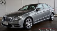 USED 2012 62 MERCEDES-BENZ E CLASS E250CDi BlueEFFICIENCY SPORT SALOON AUTO 204 BHP