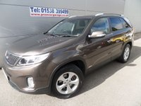 2013 KIA SORENTO 2.2 CRDI KX-2 5d 194 BHP 7 SEATER FULL LEATHER, REVERSING CAMERA £16995.00