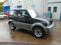 2007 SUZUKI JIMNY 1.3 JLX PLUS 3d 83 BHP £4500.00