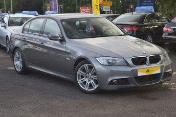 2010 BMW 3 SERIES 2.0 318D M SPORT 4d 140 BHP £8798.00